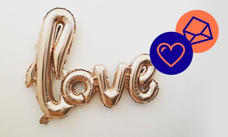 ballons love Kiute Pro