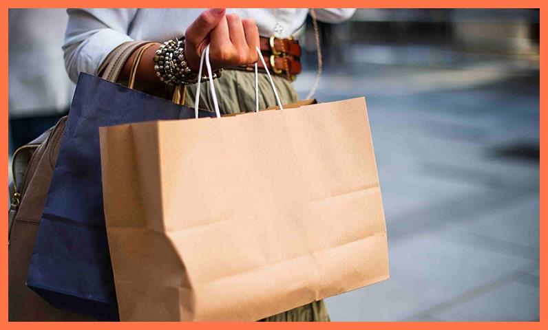 femme sac shopping Kiute Pro