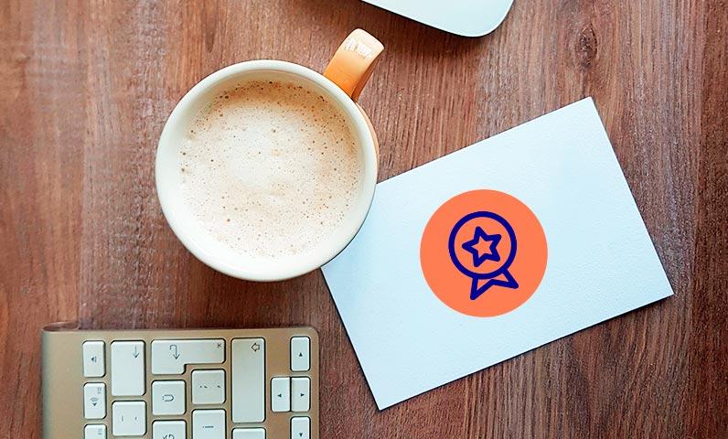 Carte fidélité café bureau Kiute Pro