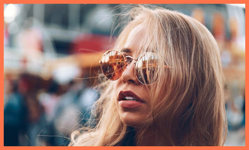 femme lunette soleil Kiute Pro