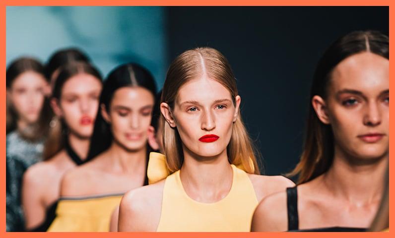 défilé femmes coiffure Kiute Pro
