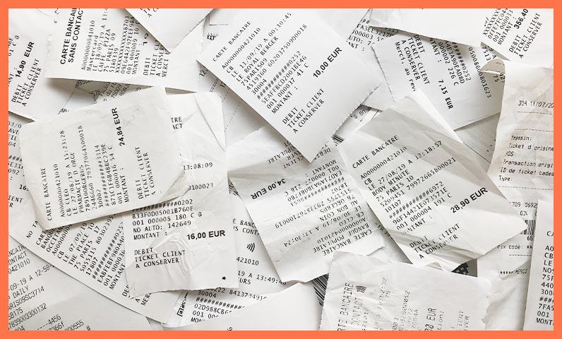 Tickets de caisse papier Kiute Pro