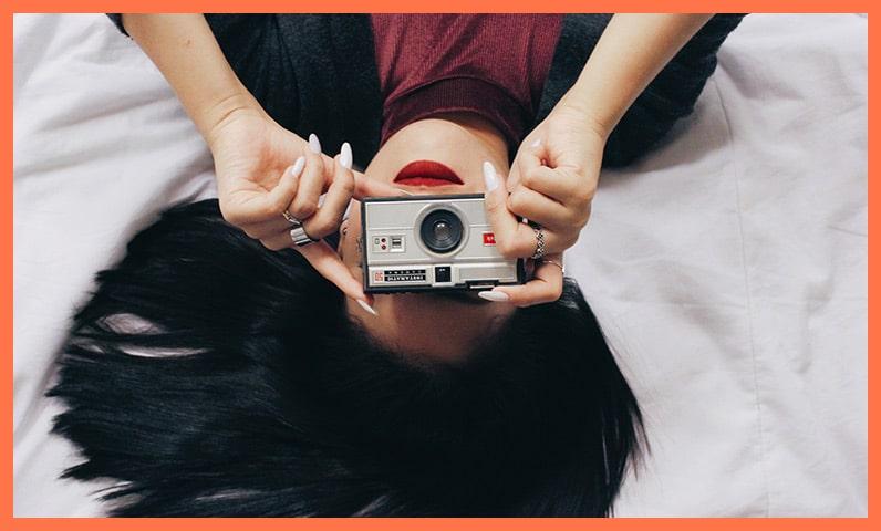 Femme appareil photo Kiute Pro