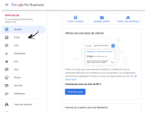 creation post google my business kiute reservation en ligne