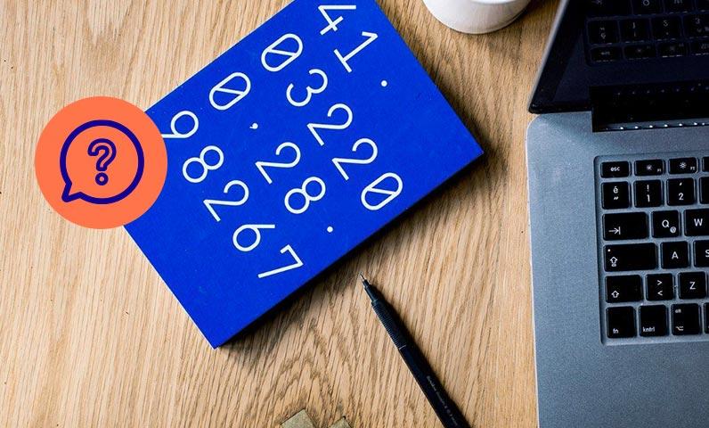 ordinateur cahier chiffres équipe Kiute Pro