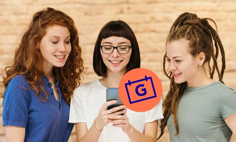 femmes clientes téléphone google reserve Kiute Pro