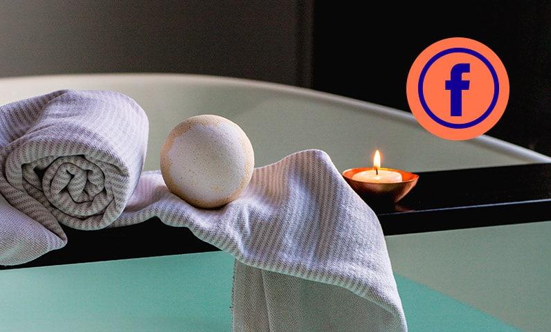 Bain bougie serviette spa Kiute Pro
