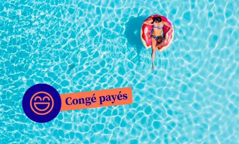 Congés payés femme piscine Kiute Pro