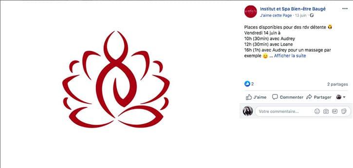 logo facebook kiute reservation en ligne