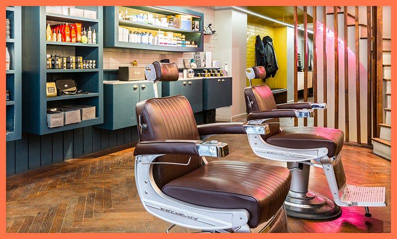 salon coiffure barber vide Kiute Pro