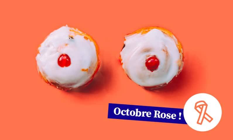 gâteaux seins octobre rose Kiute Pro