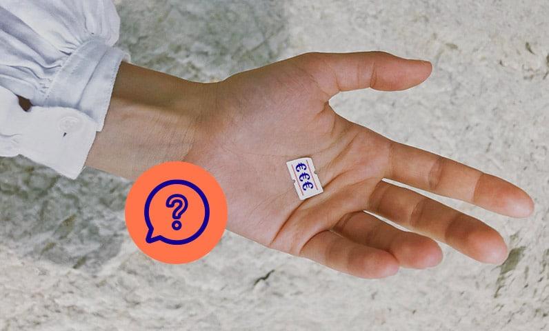 mains étiquette prix Kiute Pro