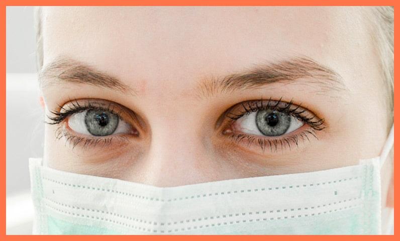 femme masque coronavirus covid-19