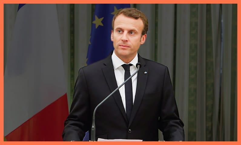 Président Macron Kiute Pro
