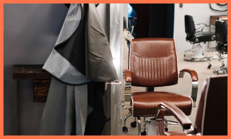 salon barbier vide Kiute Pro