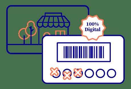 Carte de fidélité digitale