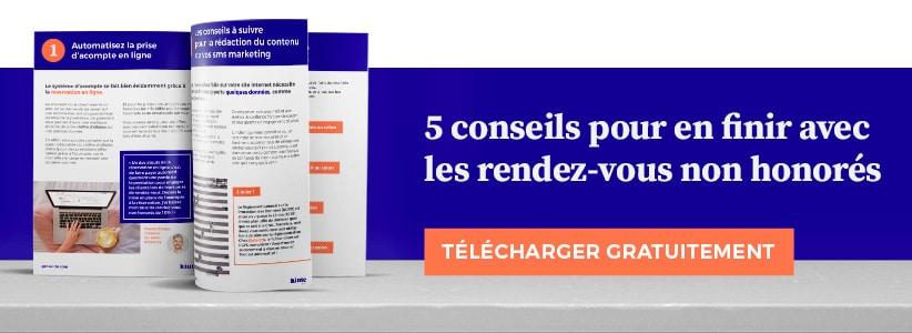 banner ebook rendez-vous non honorés no show kiute