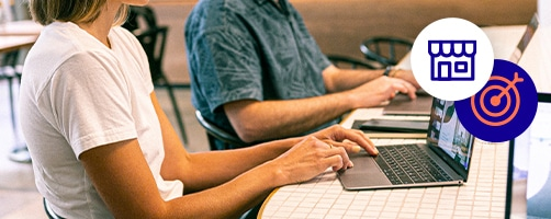 femme homme ordinateurs ebook marketing