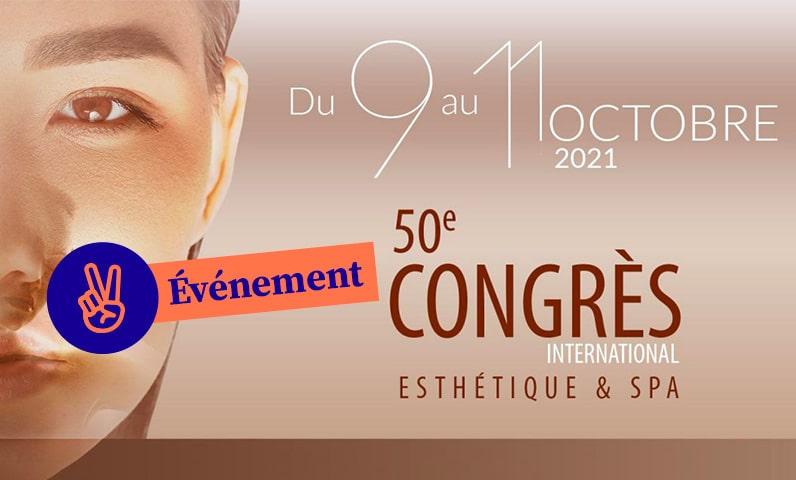 affiche congres esthetique et spa
